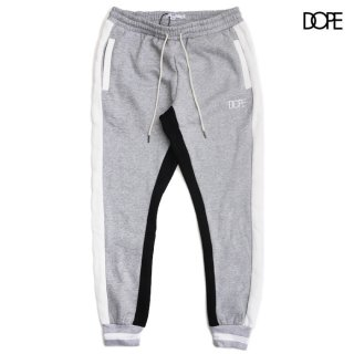 DOPE RALLY JOGGER SWEATS PANTS【GRAY】