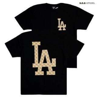 【メール便対応】S.O.G APPAREL Tシャツ【BLACK】