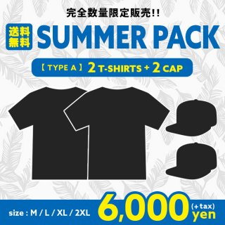 2020 SUMMER PACK【2T-SHIRTS&2CAPS】