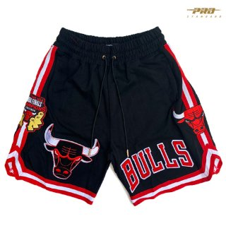 【送料無料】PRO STANDARD CHICAGO BULLS SHORTS【BLACK】