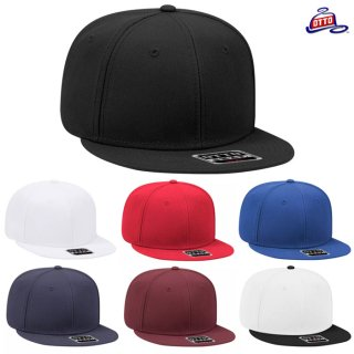 <img class='new_mark_img1' src='https://img.shop-pro.jp/img/new/icons59.gif' style='border:none;display:inline;margin:0px;padding:0px;width:auto;' />OTTO PLAIN SNAP BACK CAP【BLACK/WHITE/RED/BLUE/NAVY/BURGUNDY/WHITE×BLACK】