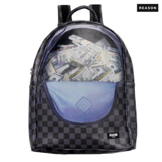 REASON CLOTHING IN DA BAG BACKPACK【BLACK】
