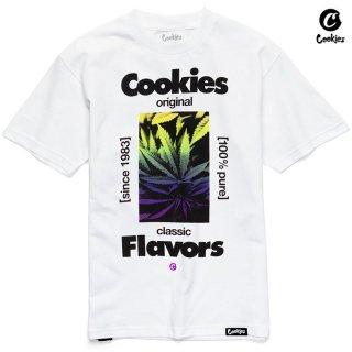 【メール便対応】COOKIES SF CLASSIC FLAVORS Tシャツ【WHITE】