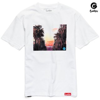 【メール便対応】COOKIES SF COOKIE HILL Tシャツ【WHITE】