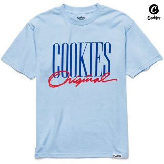 【メール便対応】COOKIES SF ORIGINAL Tシャツ【LIGHT BLUE】