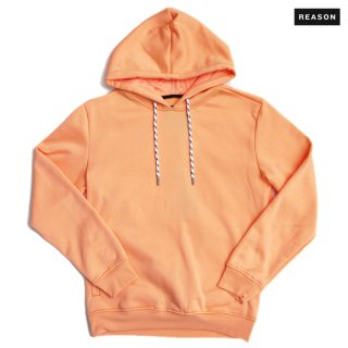 REASON CLOTHING MERCER HOODIE【ORANGE】