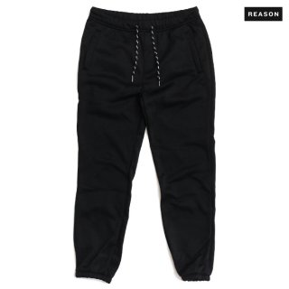REASON CLOTHING MERCER SWEAT PANTS【BLACK】