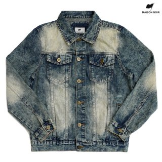 【送料無料】MAISON NOIR TOBIAS DENIM JACKET【WASH BLUE】