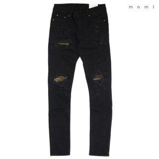 MNML X204 STRETCH DENIM PANTS【BLACK】