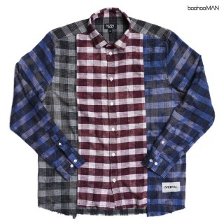 BOOHOO MAN FLANNEL SHIRTS【MULTI COLOR】