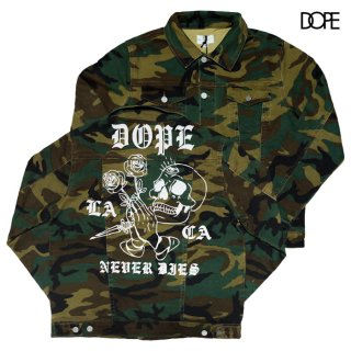 DOPE NEVER DIES JACKET【CAMOUFLAGE】