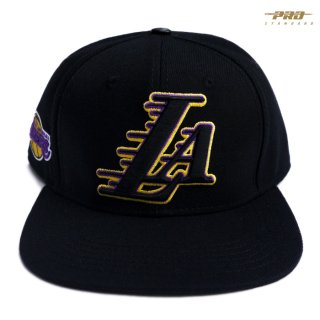 PRO STANDARD LOS ANGELES LAKERS SNAPBACK CAP【BLACK】