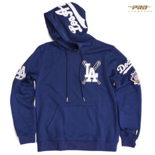 【送料無料】PRO STANDARD LOS ANGELES DODGERS HOODIE【BLUE】