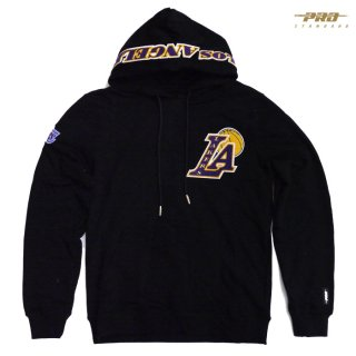 【送料無料】PRO STANDARD LOS ANGELES LAKERS HOODIE【BLACK】
