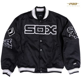 【送料無料】PRO STANDARD CHICAGO WHITE SOX JACKET【BLACK】