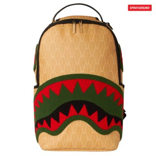 【送料無料】SPRAYGROUND SPUCCI GANG BACK PACK【BEIGE】