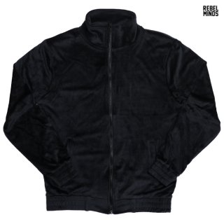 REBEL MINDS VELOUR JACKET【BLACK】