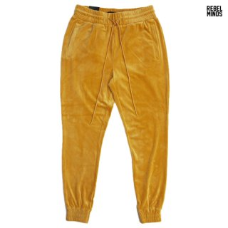 REBEL MINDS VELOUR PANTS【TIMBER】