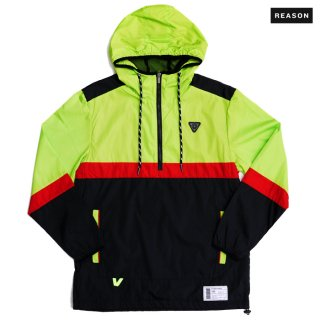 【送料無料】REASON CLOTHING FLASH ANORAK JACKET【BLACK】