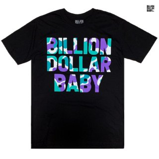 BILLON DOLLAR BABY GRAPE CAMO Tシャツ【BLACK】