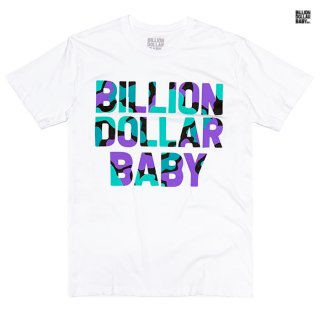 【メール便対応】BILLON DOLLAR BABY GRAPE CAMO Tシャツ【WHITE】