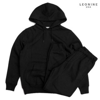LEONINE PULLOVER SWEAT SETUP【BLACK】