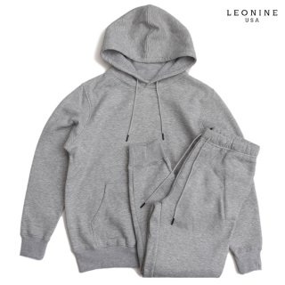 LEONINE PULLOVER SWEAT SETUP【GRAY】
