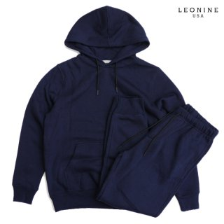 LEONINE PULLOVER SWEAT SETUP【NAVY】