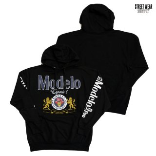 STREETWEAR SUPPLY MODELO HOODED SWEAT【BLACK】