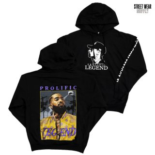 STREETWEAR SUPPLY PROLIFIC HOODED SWEAT【BLACK】