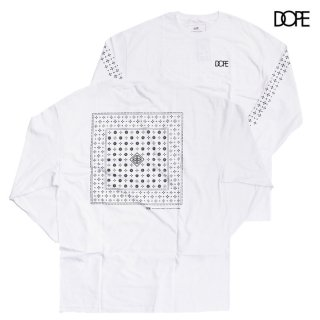 DOPE BLOOD SWEAT & TEARS L/S TEE【WHITE】