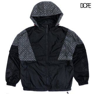 【送料無料】DOPE EXPLORER WINDBREAKER JACKET【BLACK】