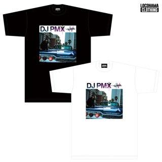 【メール便対応】【11月25日発売予定】DJ PMX/THE ORIGINAL IV リリース記念Tシャツ【WHITE/BLACK】