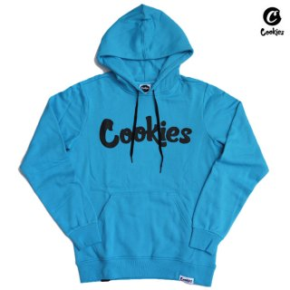 【送料無料】COOKIES SF THIN MINT PULLOVER HOODED【COOKIES BLUE】