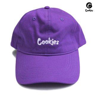 COOKIES SF THIN MINT STRAPBACK CAP【PURPLE】
