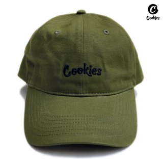 COOKIES SF THIN MINT STRAPBACK CAP【OLIVE】
