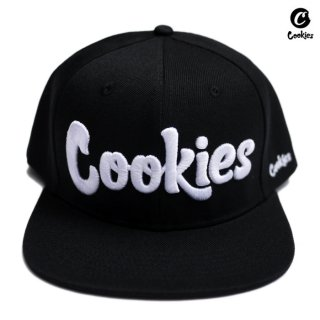 COOKIES SF THIN MINT SNAPBACK CAP【BLACK×WHITE】