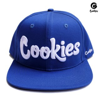 COOKIES SF THIN MINT SNAPBACK CAP【ROYAL BLUE】