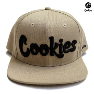 COOKIES SF THIN MINT SNAPBACK CAP【KHAKI】