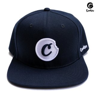 COOKIES SF C BITE SNAPBACK CAP【NAVY】