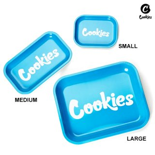 【メール便対応】COOKIES SF METAL ROLLING TRAY【MEDIUM】【BLUE】