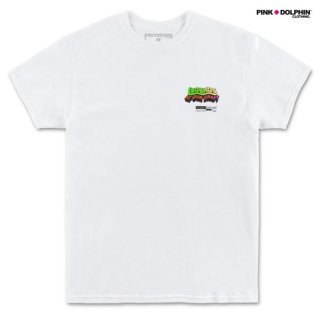【メール便対応】PINK DOLPHIN CLOTHING LEGEND BLOCK Tシャツ【WHITE】