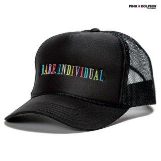 PINK DOLPHIN CLOTHING RARE INDIVIDUAL MESH CAP【BLACK】