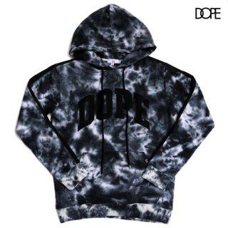 【送料無料】DOPE DYE HOODIE【BLACK】