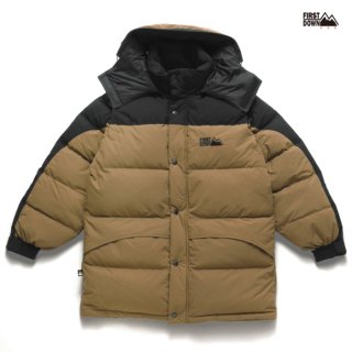 【送料無料】FIRST DOWN HOODIE JACKET【BEIGE】