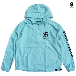 【送料無料】STREET DREAMS SURVIVAL ANORAK JACKET【AQUA】