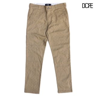 【送料無料】DOPE BLOOD SWEAT & TEARS WORK PANTS【KHAKI】