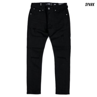 SPARK DENIM PANTS【BLACK】