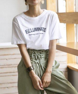 【F.ILLUMINATE】ロゴTシャツ