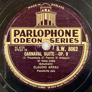 クラウディオ・アラウ(p):謝肉祭 「4つの音符による面白い情景」 op.9(シューマン)